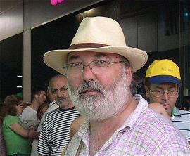 José Luis Arlanzón, gerente de ARANS-BUR y MQD, en uno de sus múltiples viajes