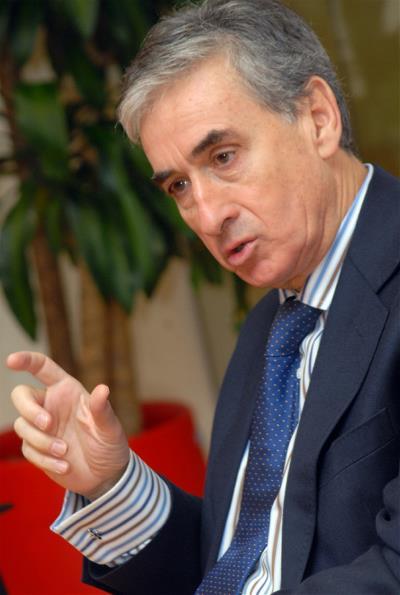 Ramón Jáuregui, diputado socialista y coordinador de la Conferencia Política del PSOE