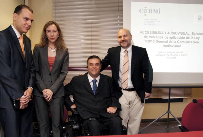 Jornada 'Accesibilidad Audiovisual: balance de tres años de la Ley General de la Comunicación Audiovisual'