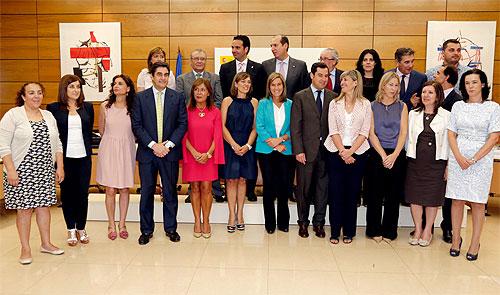 Fotografía de familia de la reunión del Pleno del Consejo Territorial de Servicios Sociales y Dependencia