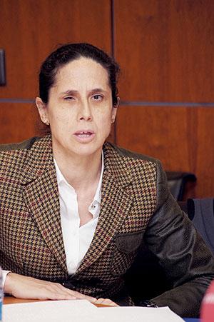 Ana Peláez, Comisionada de Género del CERMI y presidenta de la Comisión de la Mujer del CERMI