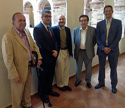 Representantes del CERMI y de la Universidad Católica de Valencia