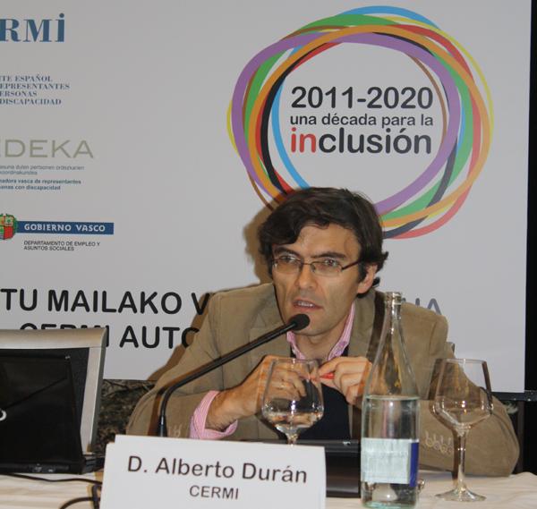 Alberto Durán, secretario general del CERMI