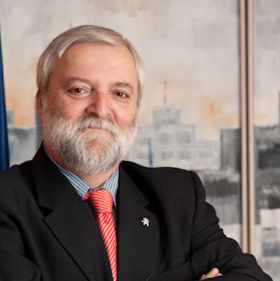 Fabián Cámara, presidente de Down España