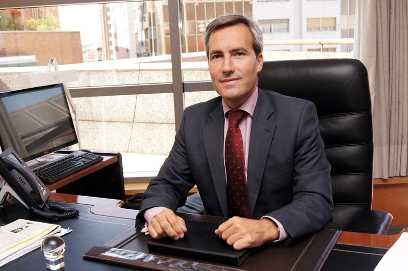 Alejandro Oñoro, director general de la Corporación Empresarial ONCE (CEOSA)