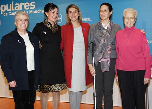 Ana Peláez recibe un premio del PP de Castilla-La Mancha por su labor en defensa de mujeres y niñas con discapacidad