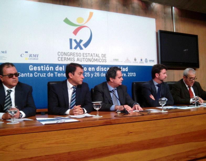 Tenerife, sede del IX Congreso Estatal de CERMIS Autonómicos