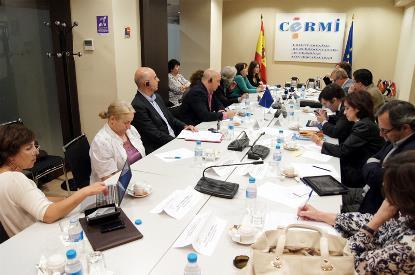 Reunión del CERMI con el Comisario de Derechos Humanos del Consejo de Europa