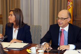 Los ministros Ana Mato y Cristobal Montoro