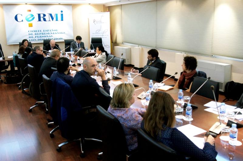 Jornada del CERMI 'Las personas con discapacidad ante el nuevo proceso penal'