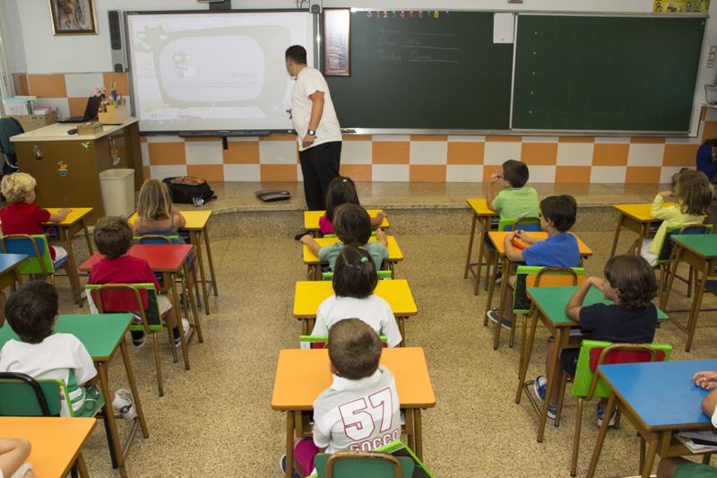 Imagen de un colegio cualquiera