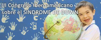 Imagen de la web del III Congreso de la Federación Iberoamericana del Síndrome de Down (FIADOWN)