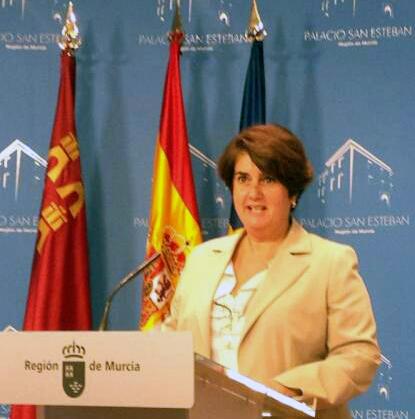 Pilar Morales, presidenta del CERMI Región de Murcia