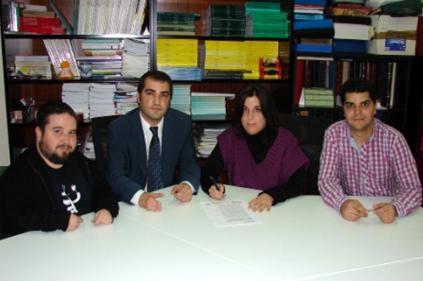 Imagen de los promotores de la Red Española de Investigadores y Doctores con Discapacidad (Reiddis)