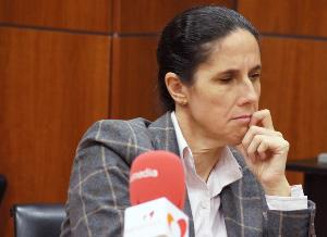 Ana Pélaez, comisionada de Asuntos de Género del CERMI, Premio Zangalleta 2013