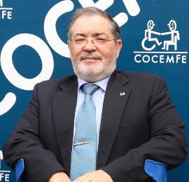 Mario García, presidente de COCEMFE