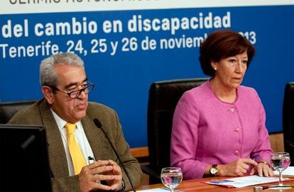 La consejera Inés Rojas durante la presentación del congreso