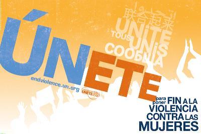 Campaña del secretario general de Naciones Unidas, 'ÚNETE', para poner fin a la violencia contra las mujeres