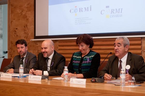 Inauguración del IX Congreso Estatal de CERMIS Autonómicos 'Gestión del cambio en discapacidad'