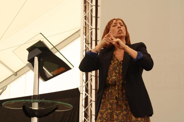 Concepción Mª Díaz Robledo, presidenta de la CNSE