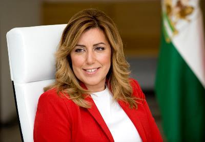 Susana Díaz Pacheco, presidenta de la Junta de Andalucía