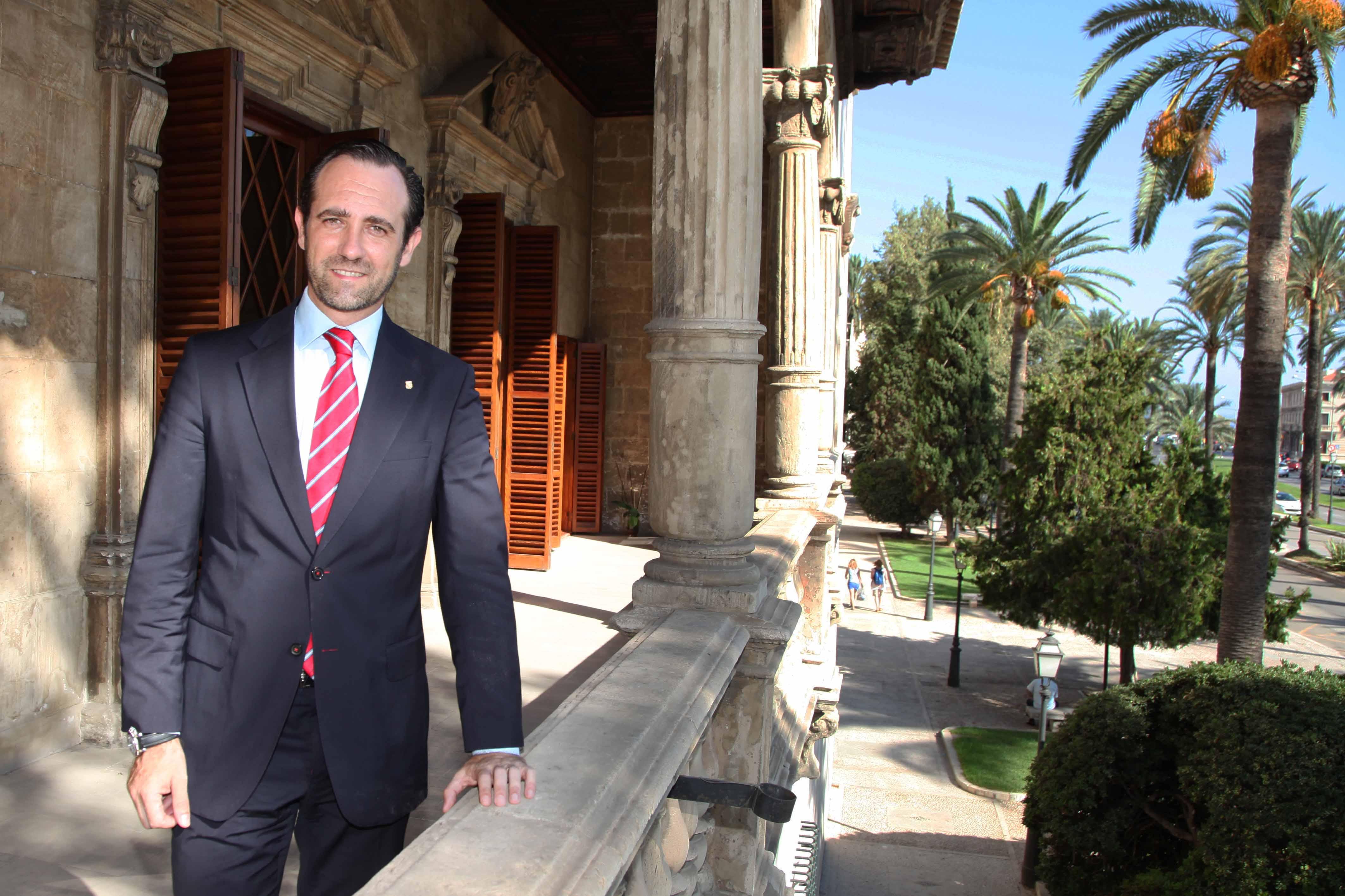 José Ramón Bauzá, presidente del Gobierno de las Islas Baleares