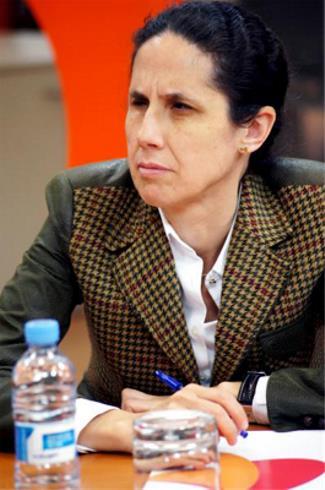 Ana Peláez, comisionada de Género del CERMI Estatal, vicepresidenta del Comité de Derechos de las Personas con Discapacidad de la ONU y directora de Relaciones Internacionales de la ONCE en Servimedia
