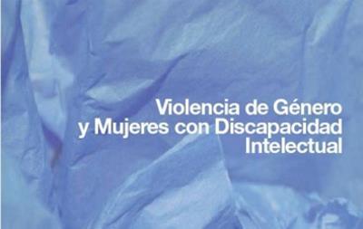 Detalle de la portada de un folleto realizado por la Comunidad de Madrid realizado para informar a las personas con discapacidad intelectual que víctimas de violencia de género