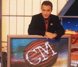 Javier Sardá en una imagen de Crónicas Marcianas