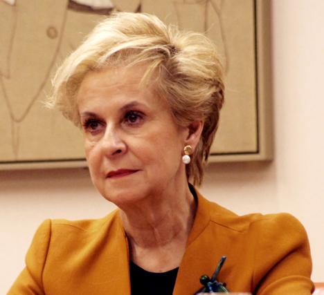 Carmen Quintanilla, presidenta de la Comisión de Igualdad del Congreso de los Diputados