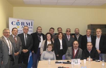 Reunión del CERMI Aragón con el PSOE de Aragón