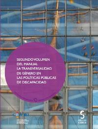 """Portada del segundo volumen de """"La transversalidad de género en las políticas públicas de discapacidad"""""""