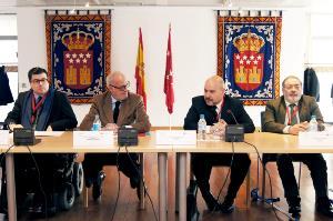 El Comité Ejecutivo del CERMI se reúne en la Asamblea de Madrid