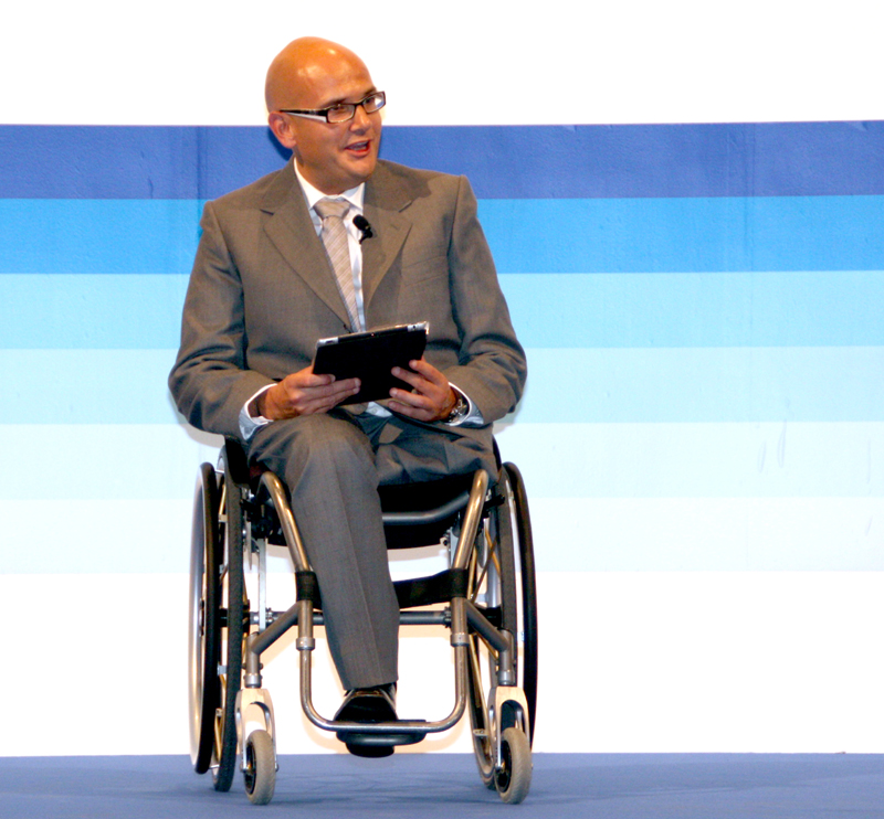 Anxo Queiruga, presidente del CERMI Galicia