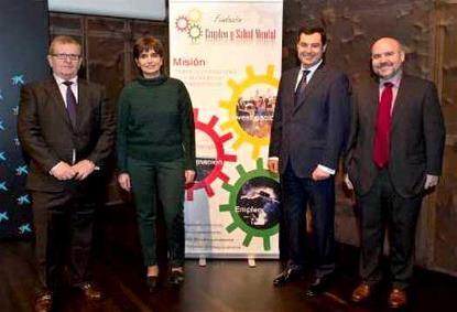 El CERMI en la presentación de la Fundación Empleo y Salud Mental