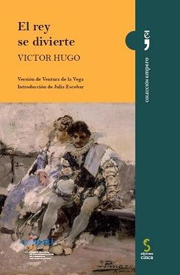"""Portada de """"El rey se divierte"""", de Victor Hugo"""