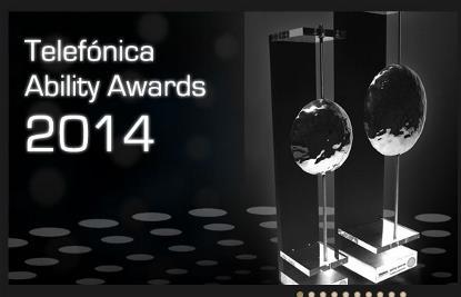 Imagen de la web de los Telefónica Ability Awards