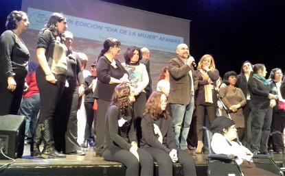 El presidente del CERMI, Luis Cayo Pérez Bueno, durante su participación en el VII Día de las Mujeres de Afanias