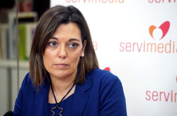 Milagros Marcos, consejera de Familia e Igualdad de Oportunidades de la Junta de Castilla y León