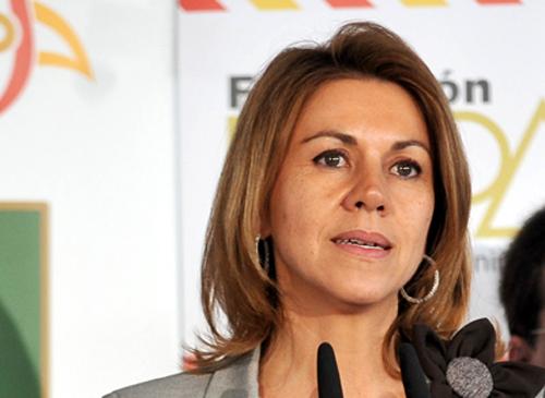 María Dolores Cospedal, presidenta del Gobierno de Castilla-La Mancha