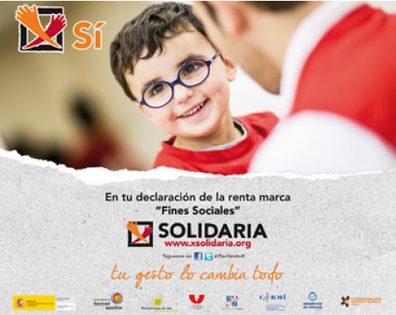 Imagen de la X solidaria