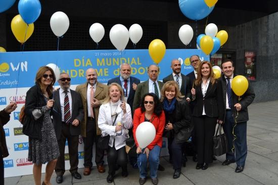 El CERMI y personalidades del mundo social y político apoyaron el acto