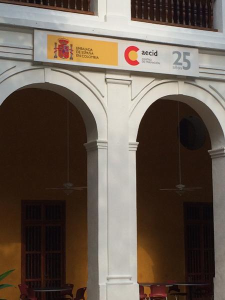 Sede de la AECID en Colombia