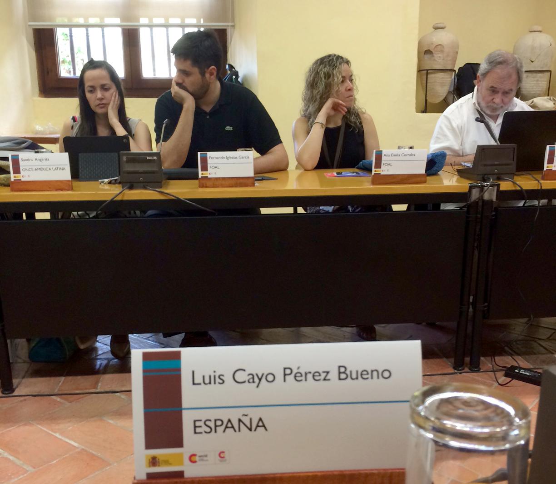 Luis Cayo Pérez Bueno, presidente del CERMI, invitado a un seminario latinoamericano promovido por la Organización Iberoamericana de Seguridad Social