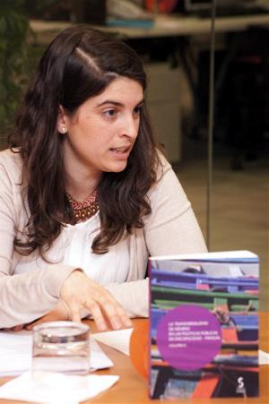 Mercedes Pérez de Prada, representante del Área de Género del CERMI
