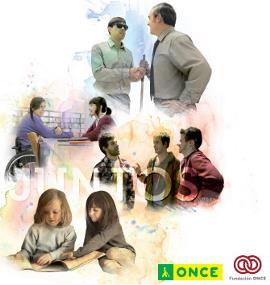 """Imagen de la campaña publicitaria de ONCE y Fundación ONCE """"Sorprenderte es sólo el principio"""