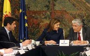 La Presidenta Cospedal recibe a la Comisión de Políticas de Discapacidad