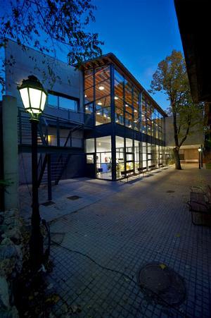 Exterior del edificio donde se aloja el Centro de Promoción de la Autonomía Personal de la Asociación Síndrome de Down Burgos