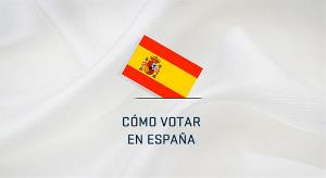 """Imagen de la web de la UE que acompaña al texto """"cómo votar en España"""""""