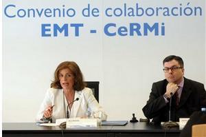 El CERMI Comunidad de Madrid y el Ayuntamiento firman un convenio para fomentar la accesibilidad universal en la EMT (imagen de la web de la EMT)